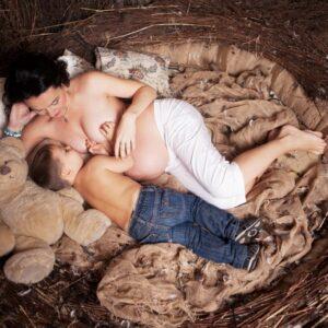 Кормление грудью и беременность
