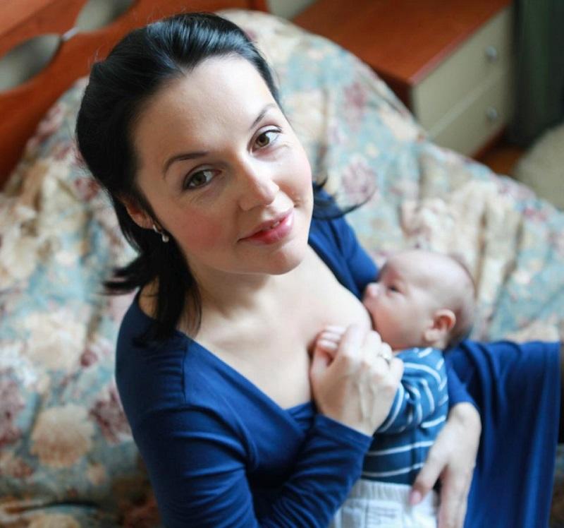 Татьяна Арбузова с сыном Сашей